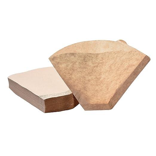 Olivisa - Filtros de papel para cafeteras (100 unidades, sin ...