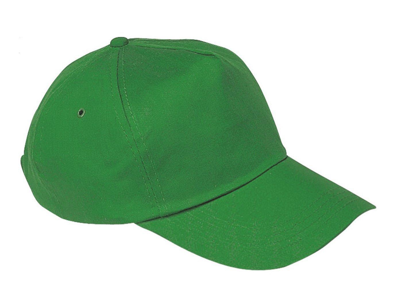 Gorra de béisbol para niño a talla unisex multicolor verde Regular