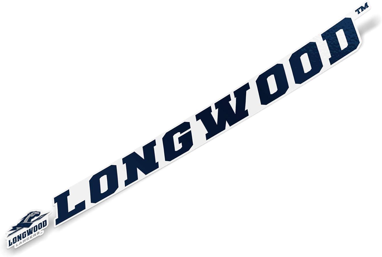 15 Inch Sticker Longwood University Lancers NCAA Name Logo Vinyl Decal Laptop Water Bottle Car Scrapbook