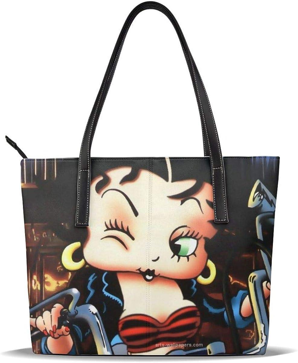 Be-Tty Bo-Op Women'S Handbags Large Tote Shoulder Bag Top Handle Satchel Bag For Work Waterproof Large Capacity Suitable For Work Travel Study