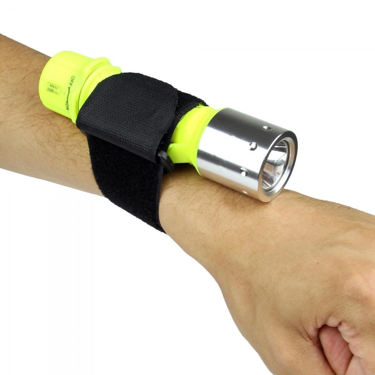 TurnRaise Linterna LED Portá til 1200 Lumen Baterí a Lá mpara con 5 Modos para Excursionismo Cá mping