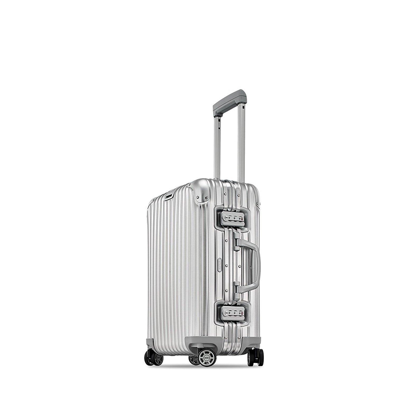 RIMOWA [ リモワ ] Topas トパーズ 34L Cabin MultiWheel IATA キャビン 4輪 Silver シルバー 923.53.00.4.02 スーツケース [並行輸入品] B077KX31SZ