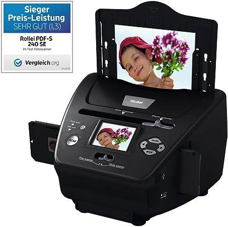 Rollei Pdf S 240 Se Multiscanner Für Fotos Dias Und Kamera