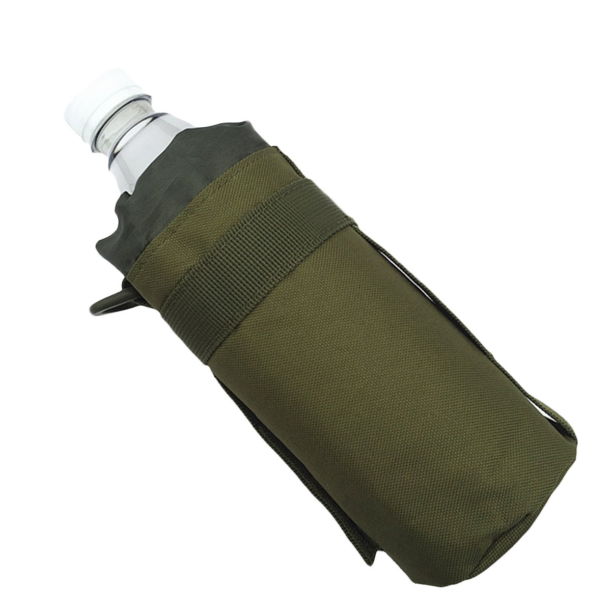 Portable Outdoor Tactical Molle Water Bottle Bag Pouch Backpack Belt Holder CHRISTYLE