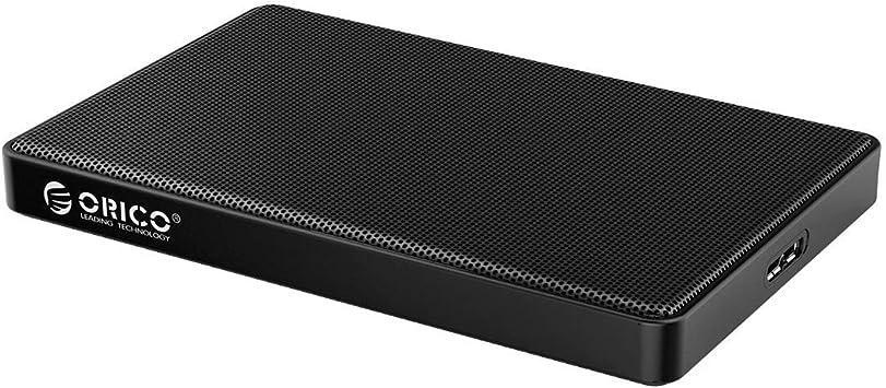Orico Caja de disco duro con malla metálica USB 3.0 para HDD y SSD ...