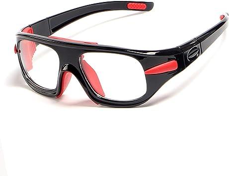 Epinki Unisexo TPU+PC Baloncesto-Gafas Fútbol Gafas de Protección ...