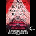 My Big Fat Supernatural Honeymoon Audiobook by Rachel Caine, Kelly Armstrong, Jim Butcher Narrated by Jay Snyder, Christian Rummel, Khristine Hvam, Lauren Fortgang, Elisabeth Rodgers, Peter Ganim