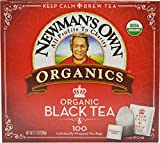 Newman's Own Organics Royal Tea, Organic Black Tea, 100 Individually Wrapped Tea Bags, 7.1 Ounce (Pack of 5)