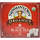 Newman's Own Organics Royal Tea, Organic Black Tea, 100 Individually Wrapped Tea Bags, 7.1 Ounce (Pack of 5)
