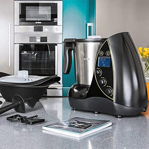 Cecomix Robot Evolution Que Cocina y tritura, 1500 W, 3.3 litros, PU|Acero inoxidable, Plata: Amazon.es: Hogar