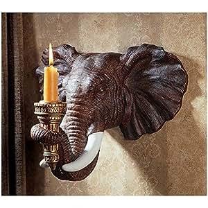 Design Toscano Elephant Wall Sconce (Set of 2)