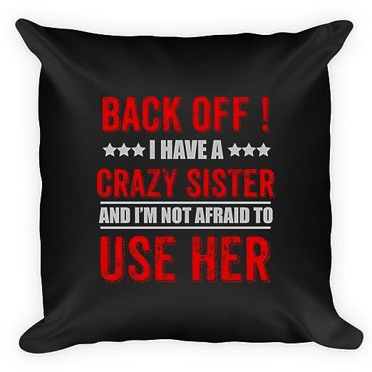 Funny almohada para hermana. Impresionante regalo de Navidad ...