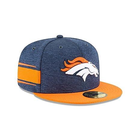 30505bc7 Amazon.com: New Era Denver Broncos 2018 NFL Sideline Home 59FIFTY ...