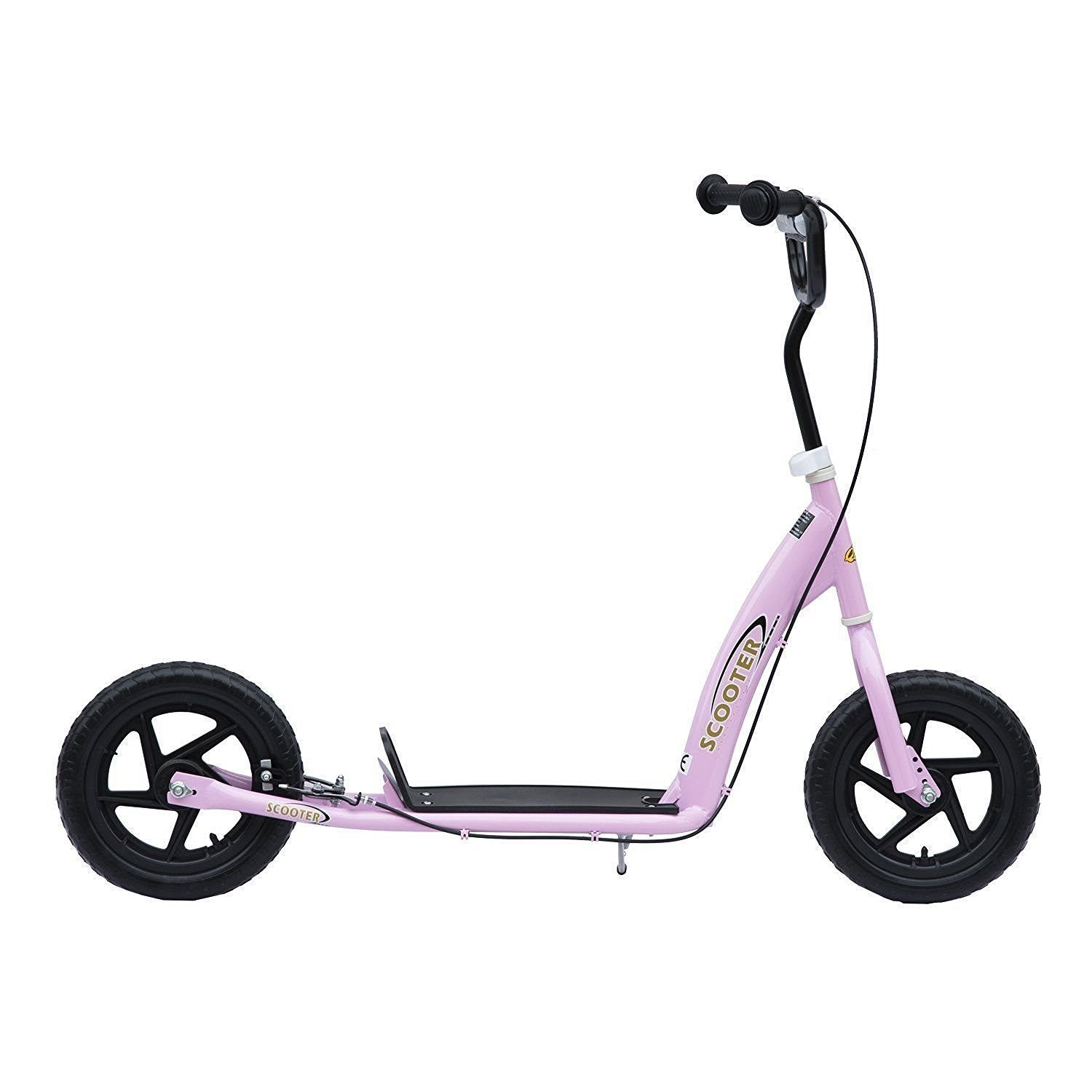 HOMCOM Patinete Scooter 12 Pulgadas City Roller - Patinete ...