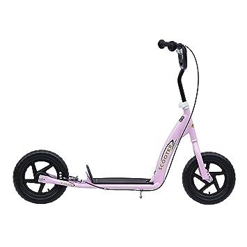 HOMCOM Patinete Scooter 12 Pulgadas City Roller - Patinete ...