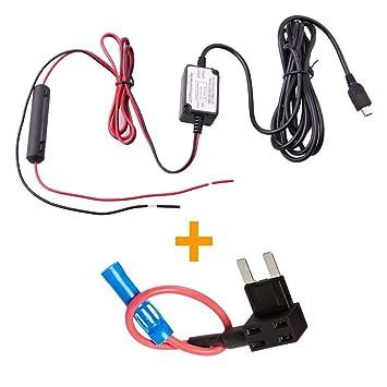 amazon com spy tec dash cam hardwire fuse kit with micro usb direct rh amazon com