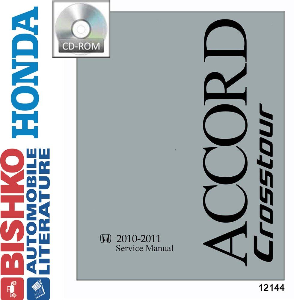 Amazon.com: bishko automotive literature 2010 2011 Honda Accord Crosstour Shop  Service Repair Manual CD Engine OEM: Automotive
