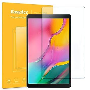 "82f37d9f9c8 EasyAcc Protector de Pantalla para Samsung Galaxy Tab A 10.1"" 2019,  Alta Definicion Cristal"