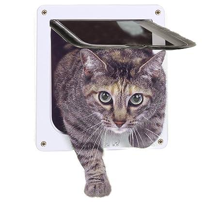 Amazon Moost Cat Door 4 Way Locking Pet Door For Interior