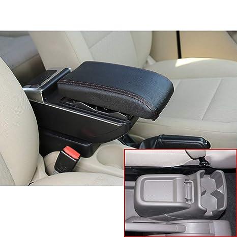 Para 2010-2017 N issan NV200 De lujo Auto Apoyabrazos Consola Central Reposabrazos Accesorios Con