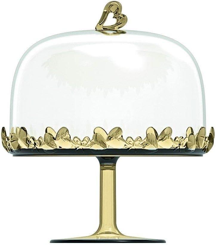 Sabbia /Ø18.4 x h21 cm Guzzini Alzata Grande con Campana Love