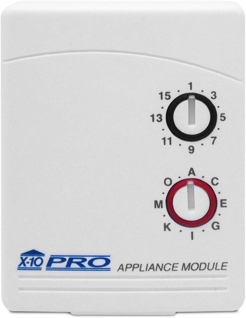 X-10 Pro Appliance Module w/Auto Gain Control 3-Pin Model PAM02