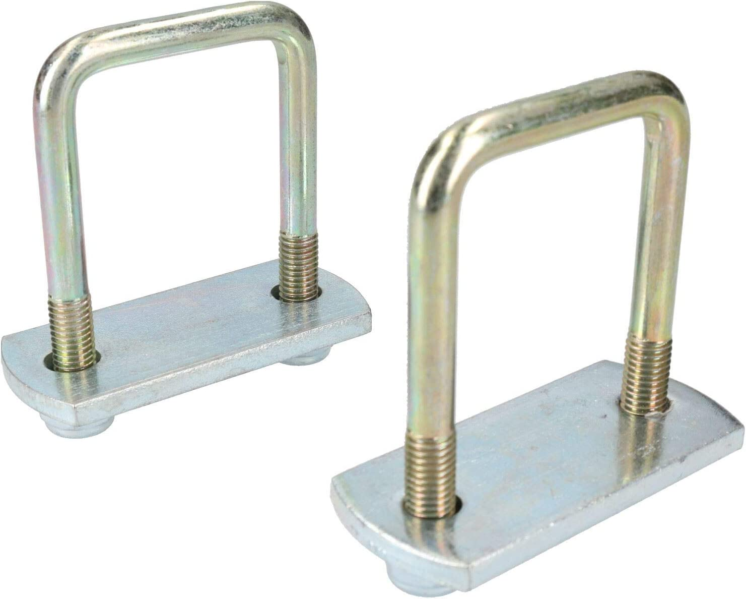 4 Pack M10 50mm x 130mm U-Bolt N-Bolt with Plates /& Nuts HIGH TENSILE