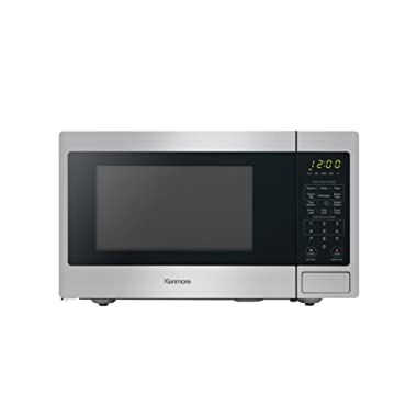 Kenmore 70913 0.9 cu. ft. Countertop Microwave in Stainless Steel