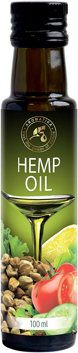 Aceite de Semillas de Cáñamo 100ml - 100% Puro y Natural - Aceite Base - Cannabis Sativa Seed Oil - Hemp oil