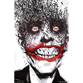 Amazon.com: Joker Bats 24x36 Poster Art Print Batman