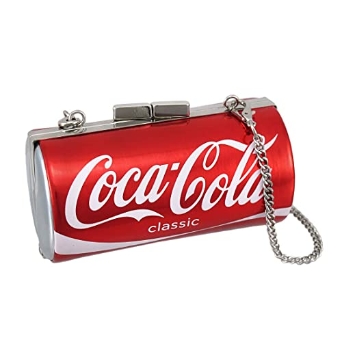 5dc48778eb55 Amazon.com  Licensed Coca-Cola Classic Can Evening Bag Coke Clutch  Shoes