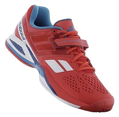 Babolat Propulse BPM All Court Men s Tennis Shoe - Red ... 5dedae8c791