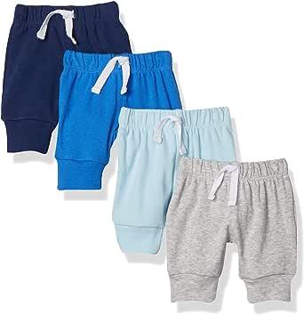 Amazon Essentials 3-Pack Cotton Pants Bebé-Niñas