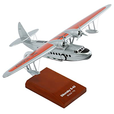 Mastercraft Collection S-43 Pan American Scale: 1/72 Model Kit: Toys & Games