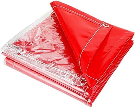ZXXY Lona Impermeable, Cobertor de Lona de Uso múltiple Transparente a Prueba de Lluvia para cochera, balcón y pérgola, 500 g/Metro Cuadrado,1.1x2m: Amazon.es: Deportes y aire libre