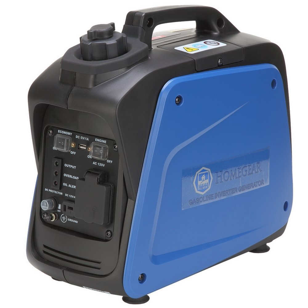Homegear 950i Digital 800 Watts Portable Gas Inverter Power Generator