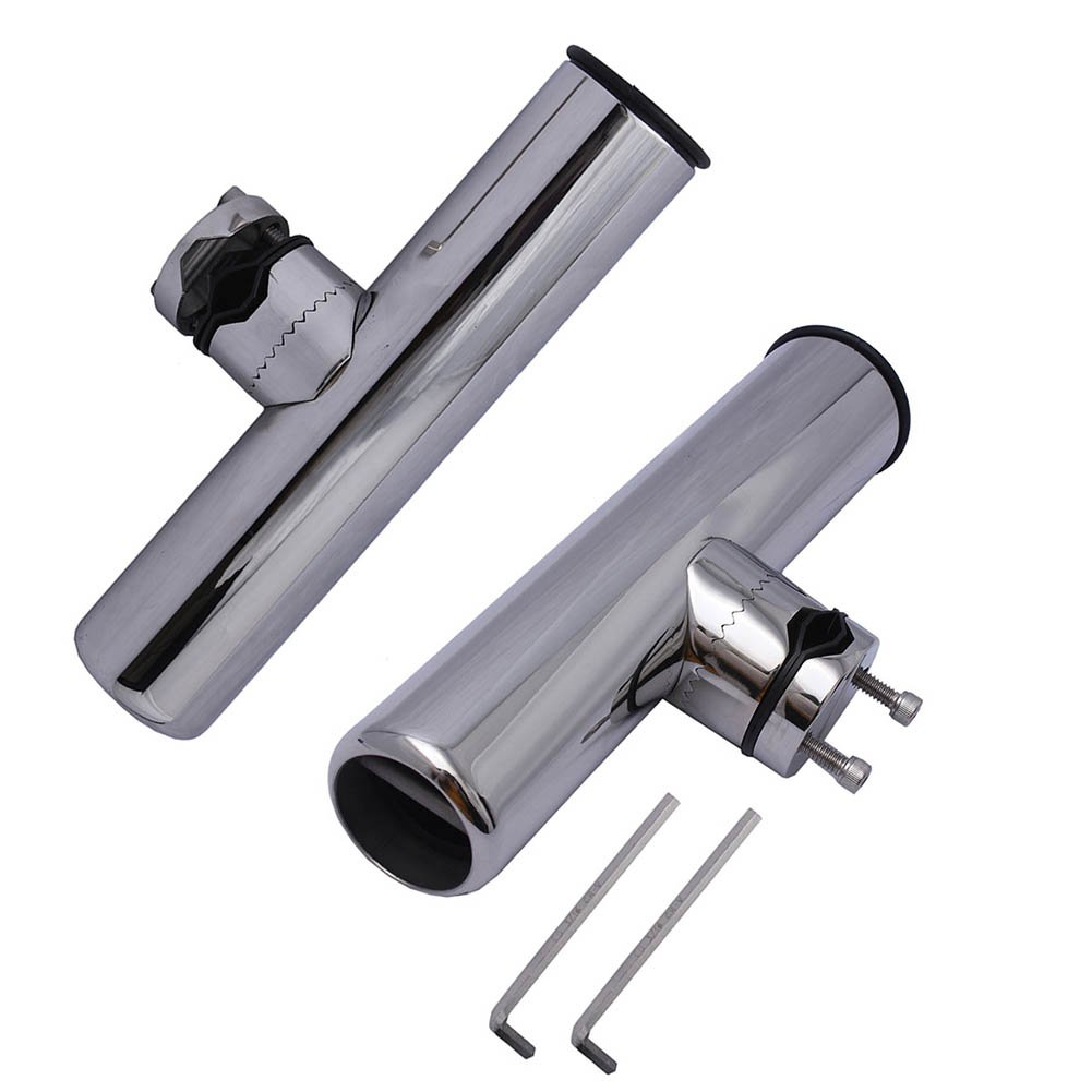 2PCS FISHING ROD HOLDER base),Small - 23cm Pin(welded Clamp On 360 2.2cm Degree Adjustable Fishing Rod Holder - Clamp to Fit 2.2cm - 2.5cm Tube with Pin(welded at base),Small Wrench Included B06X9FF5P8, 枡屋セレクション Wine & Malt:3c4bcef0 --- ijpba.info