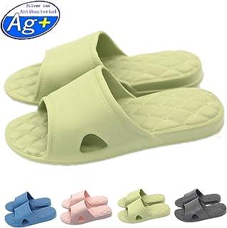 Happy Lily Pantofole antiscivolo per la doccia, il bagno o la piscina, con suola morbida in schiuma, da donna o da uomo