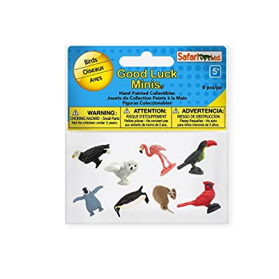 Safari 100217 Good Luck Minis Fun Packs Birds Minature: Toys & Games