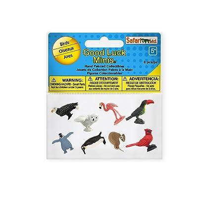 Safari 100217 Good Luck Minis Fun Packs Birds Minature: Toys & Games