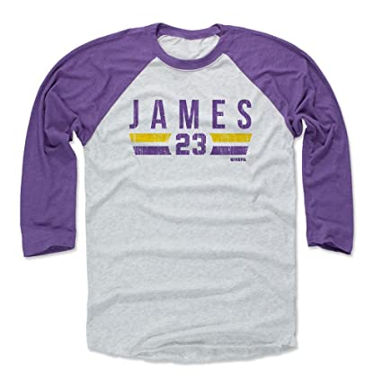 Amazon Com 500 Level Lebron James Baseball Tee Shirt Los Angeles