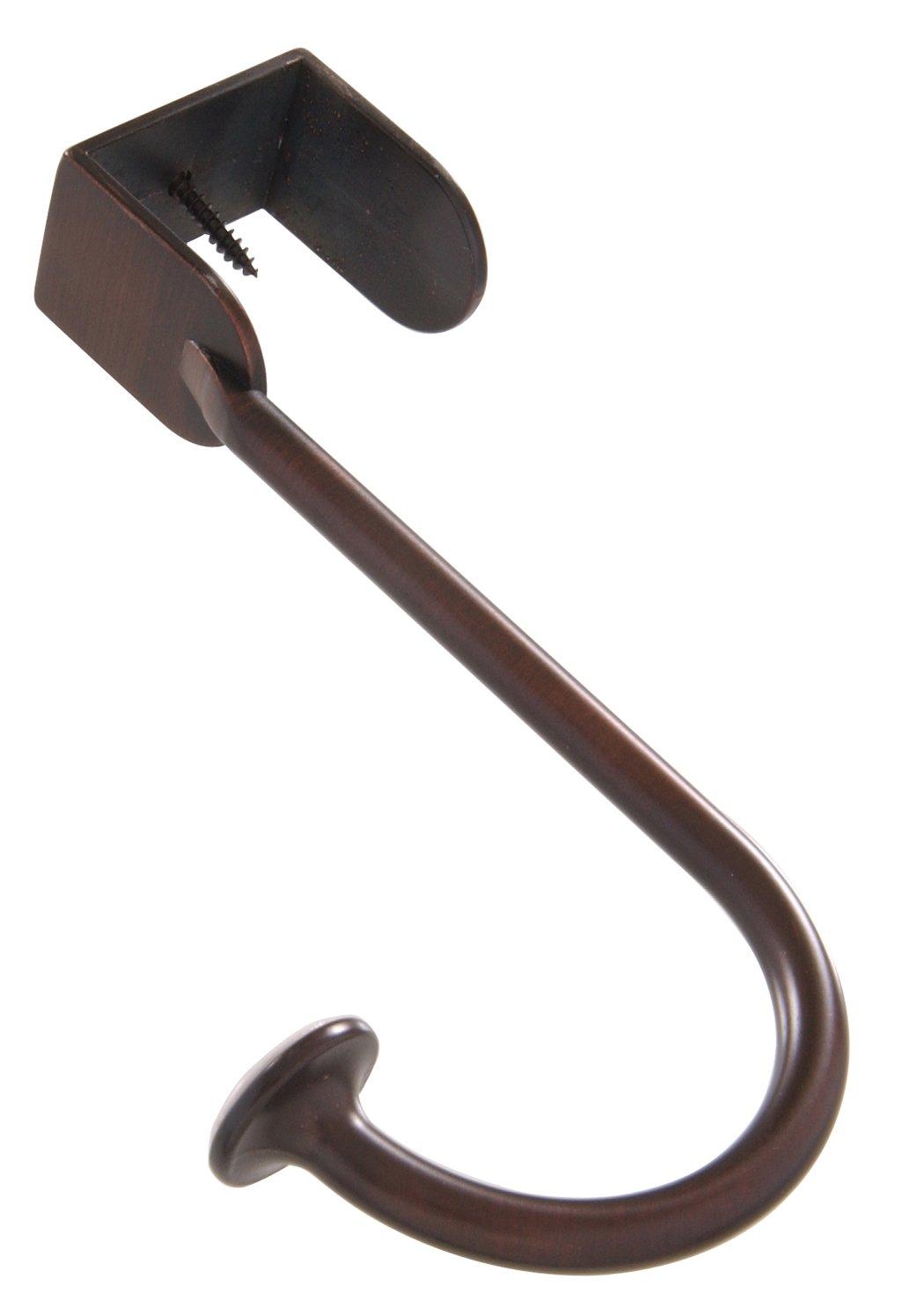 The Hillman Group 592544 Over Door Hook Antique Bronze 1 Pack