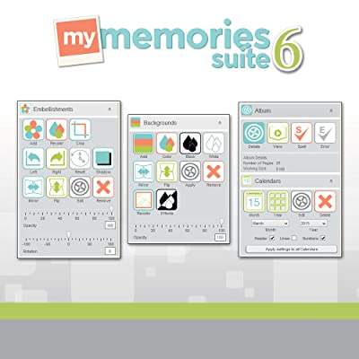 MyMemories Suite v6 with Creativity Collection (for Mac) [Download]