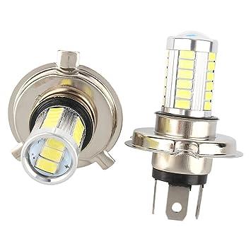 2pcs blanca H7 33SMD 5630 DC 12V Bombillas LED Auto Cabeza del Coche del Lado de la Lámpara de luz: Amazon.es: Coche y moto
