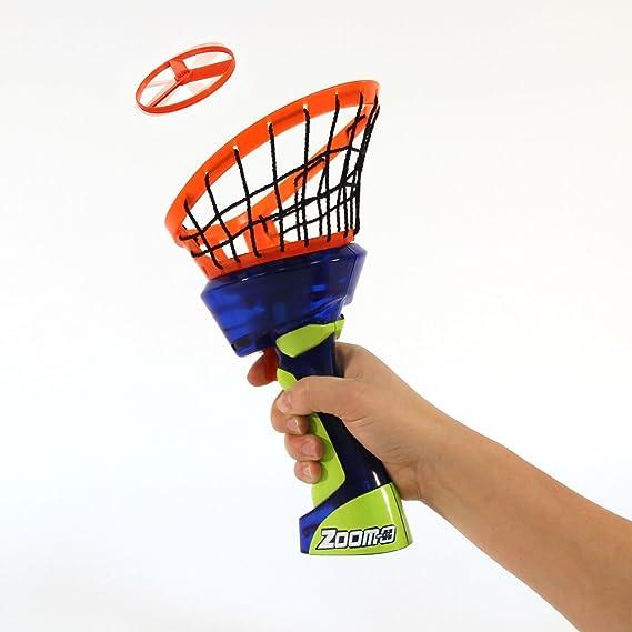 Amazon.com: zoom-o lanzador de discos con Catch Net: Sports ...