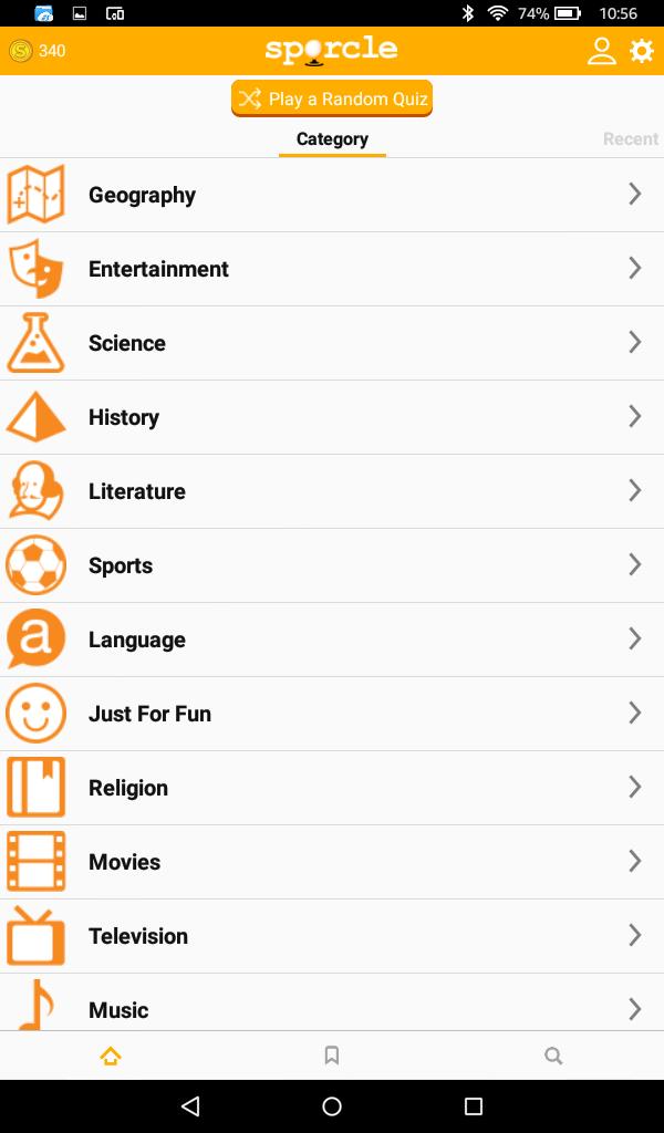 Sporcle: Amazon.es: Appstore para Android
