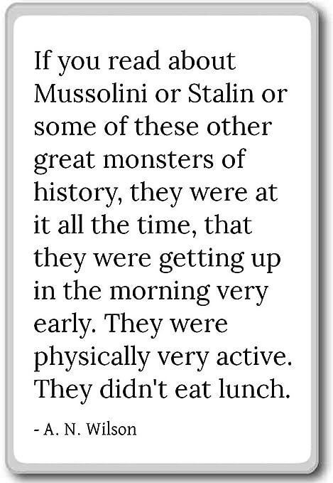 Se Si Legge Di Mussolini O Stalin O Alcuni A N Wilson