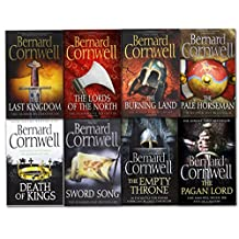 Bernard Cornwell Warrior Chronicles Series 8 Books Set (The Pagan Lord, Death of Kings, The Lord of the North, Sword Song, The Burning Land, The Pale Horseman, The Last Kingdom, The Empty Throne)