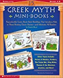 img - for 15 Greek Myth Mini-Books: Reproducible Comic Book-Style Retellings That Introduce Kids to These Riveting Classic Stories and Motivate All Readers book / textbook / text book