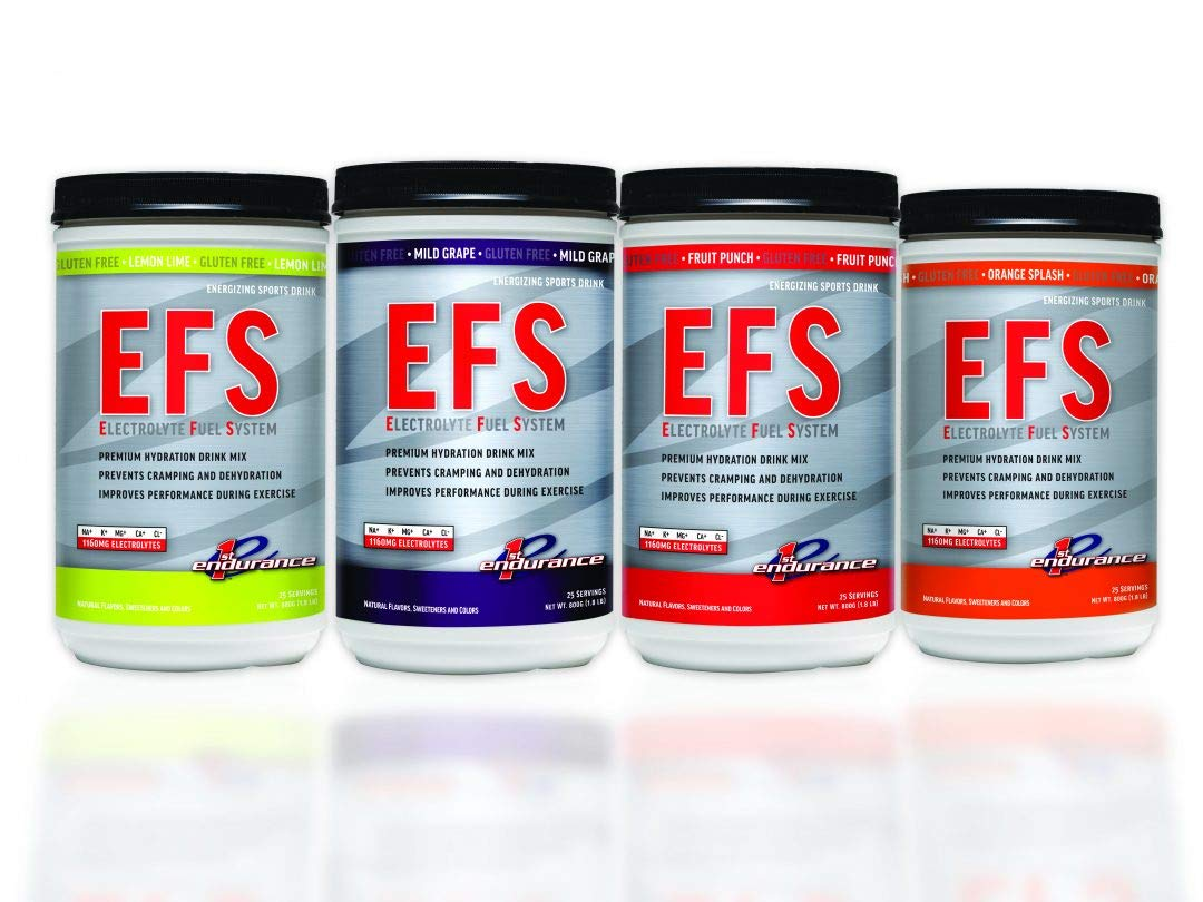 First Endurance EFS (Electrolyte Fuel System) - Sports Drink Mix | Maximize  Hydration &